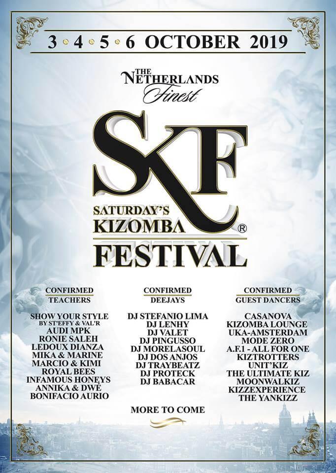 Saturday's Kizomba Festival 2019