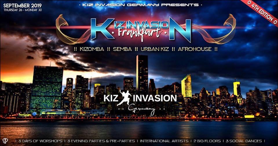 KizombaInvasion Frankfurt 2019
