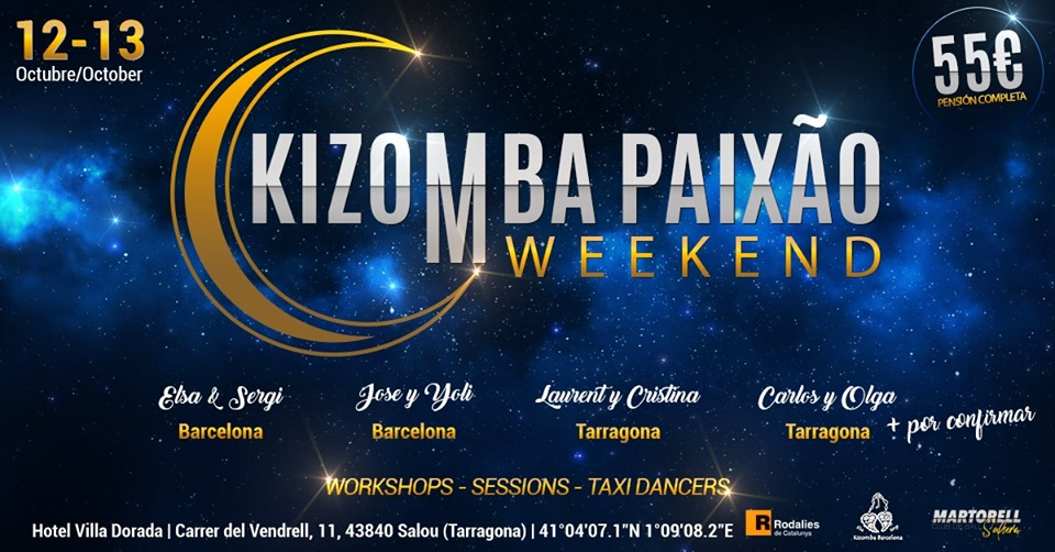 Kizomba Paixao Weekend