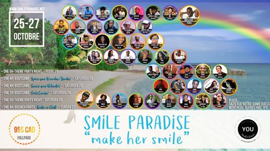 Smile Paradise Weekender