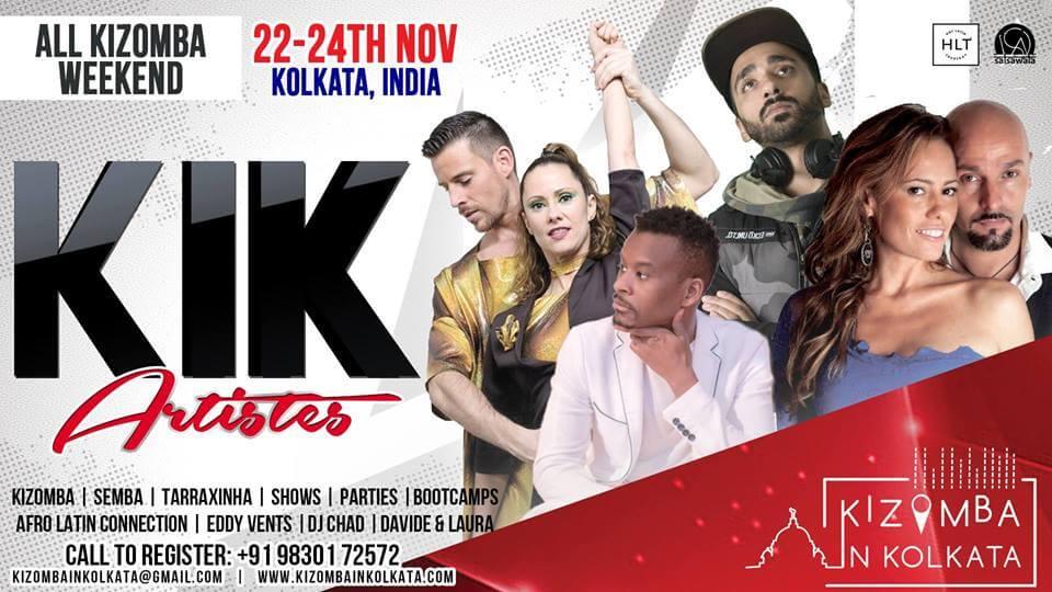 KIK 2019: Kizomba in Kolkata