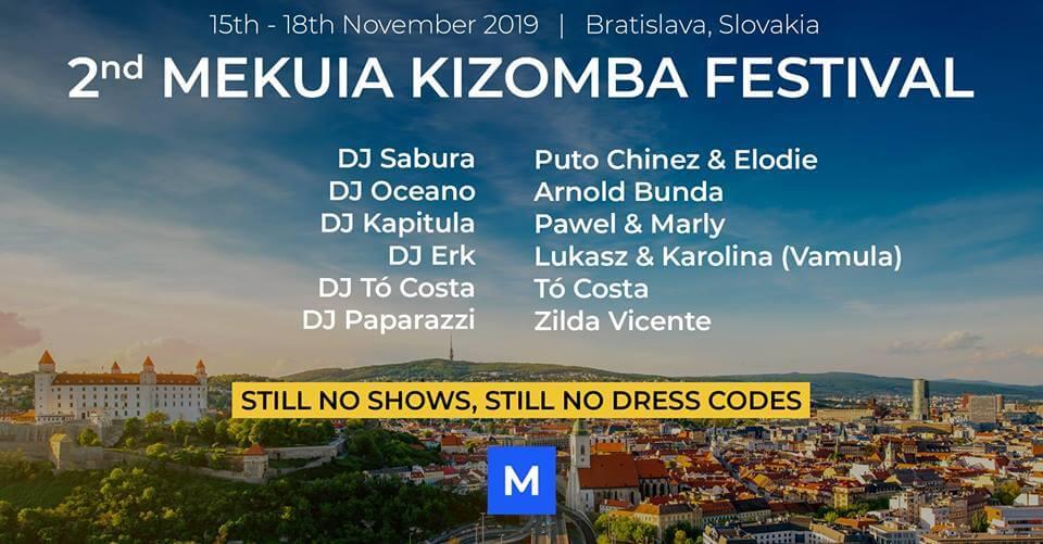 2nd Mekuia Kizomba Festival 2019
