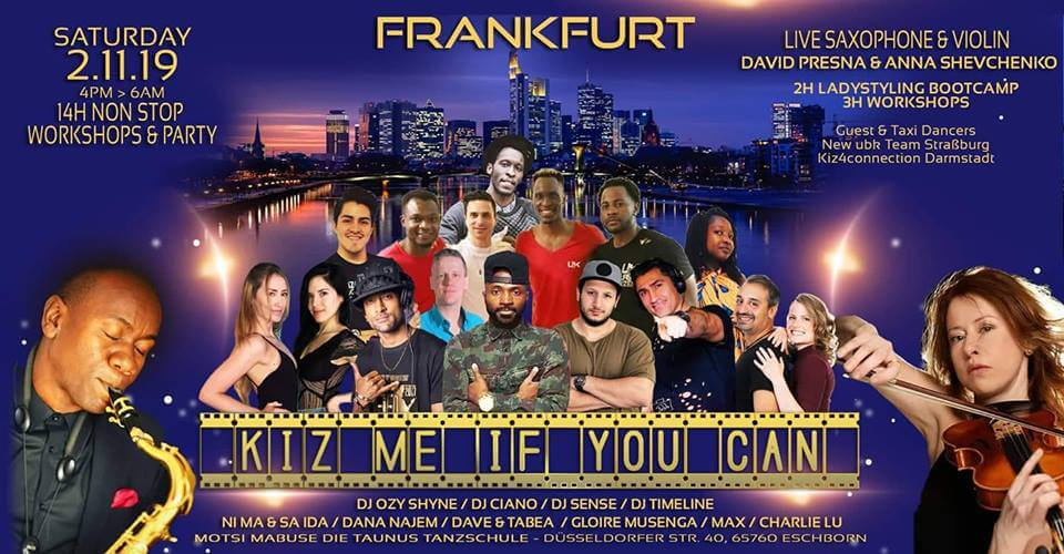 Kiz me if you Can – FRANKFURT