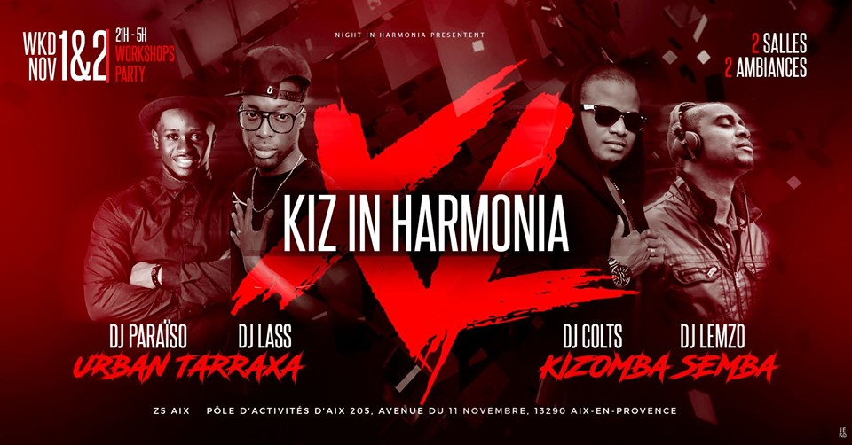 Week-end Kiz in harmonia – XL