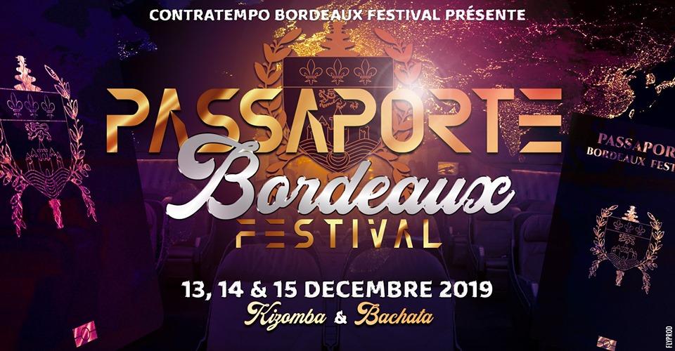 Passaporte Bordeaux Festival Kizomba & Bachata