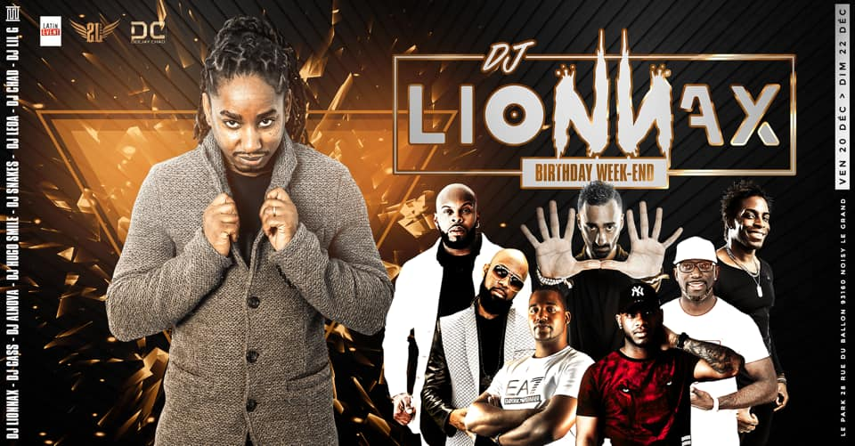 Dj Lionnax Birthday week-end
