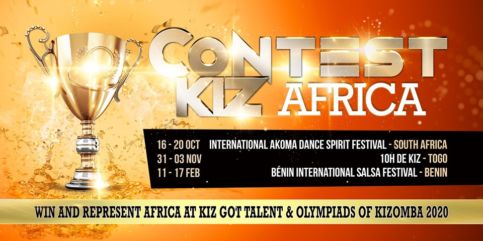 Contest Kiz Africa eliminatory at 2nd IADSF Johannesburg
