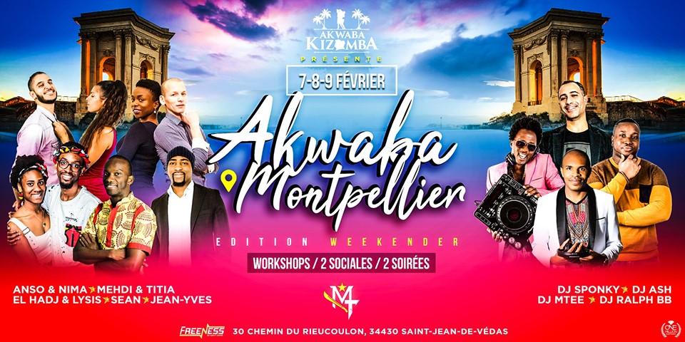 Akwaba Montpellier - Edition Weekender