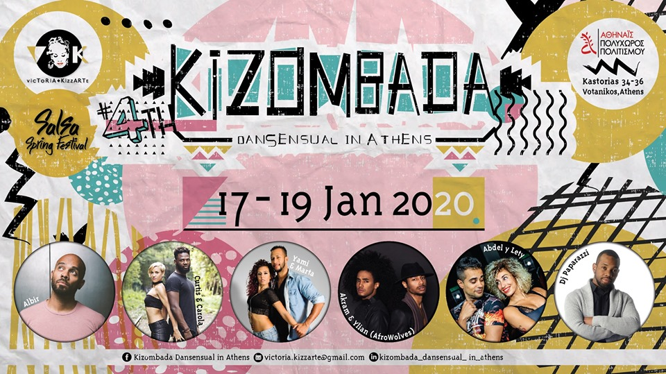 4th Kizombada Dansensual in Athens