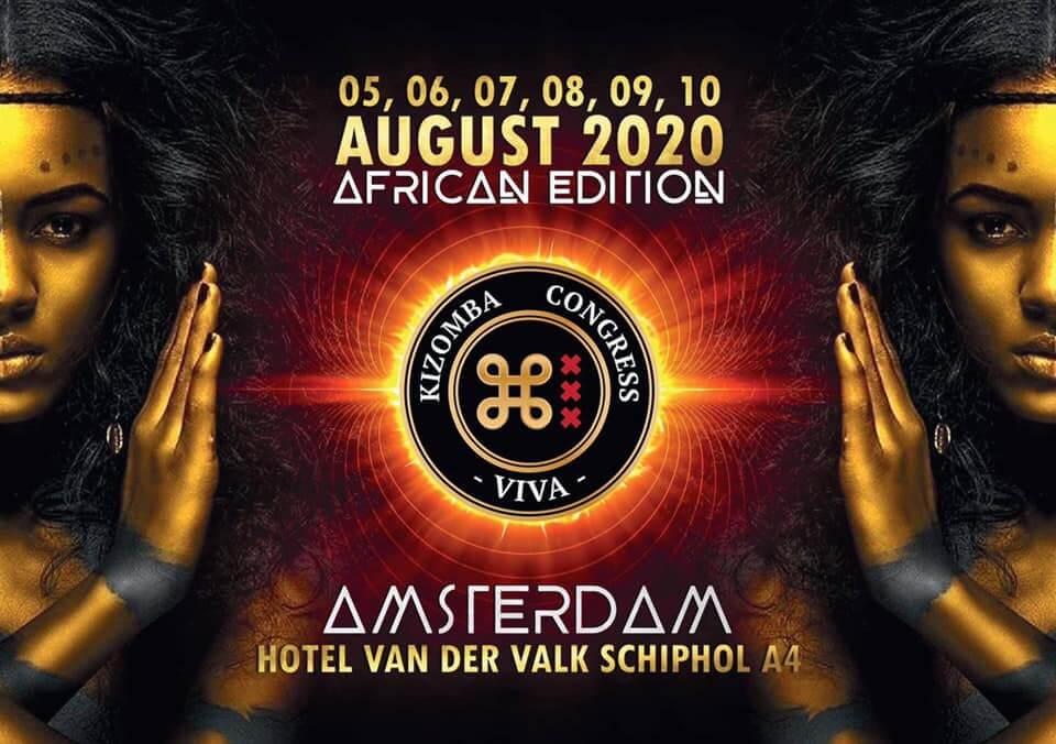 Viva kizomba Congress Amsterdam 2020