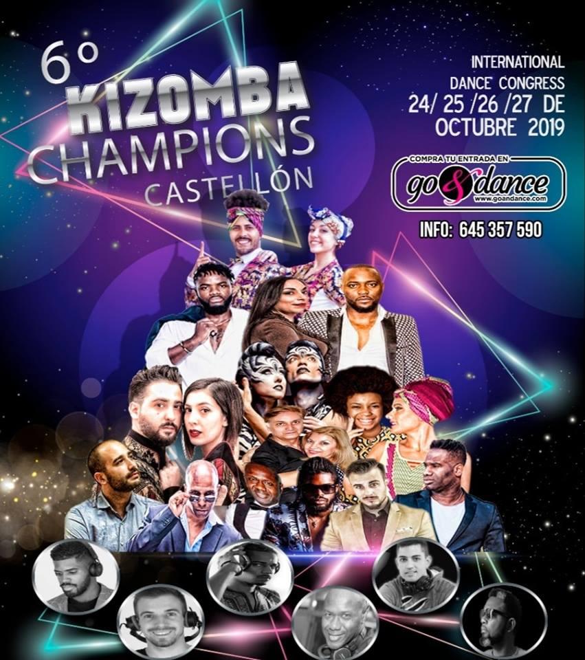 6° KIZOMBA Champions Castellón 2019