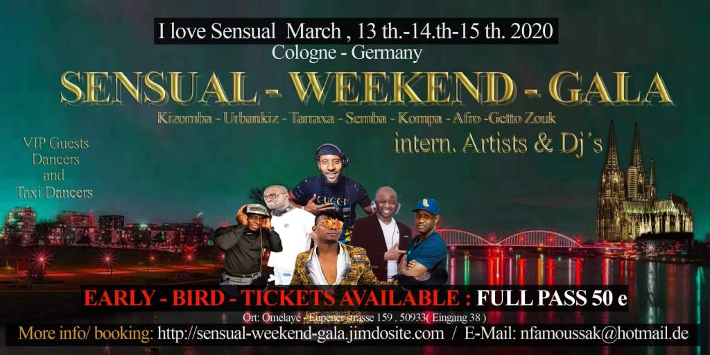 Cologne Sensual weekend Gala