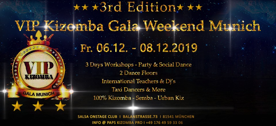 VIP Kizomba Gala Weekend Munich