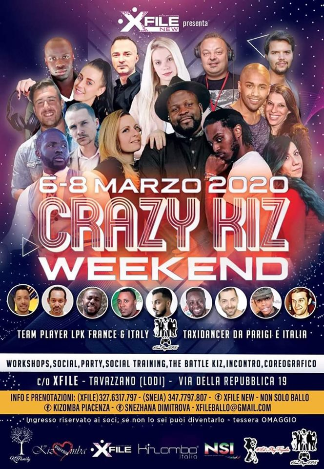Crazy Kiz Weekend
