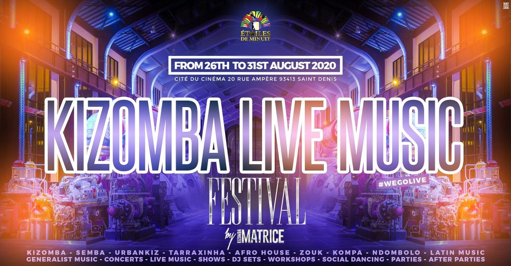 Kizomba Live Music Festival 2020