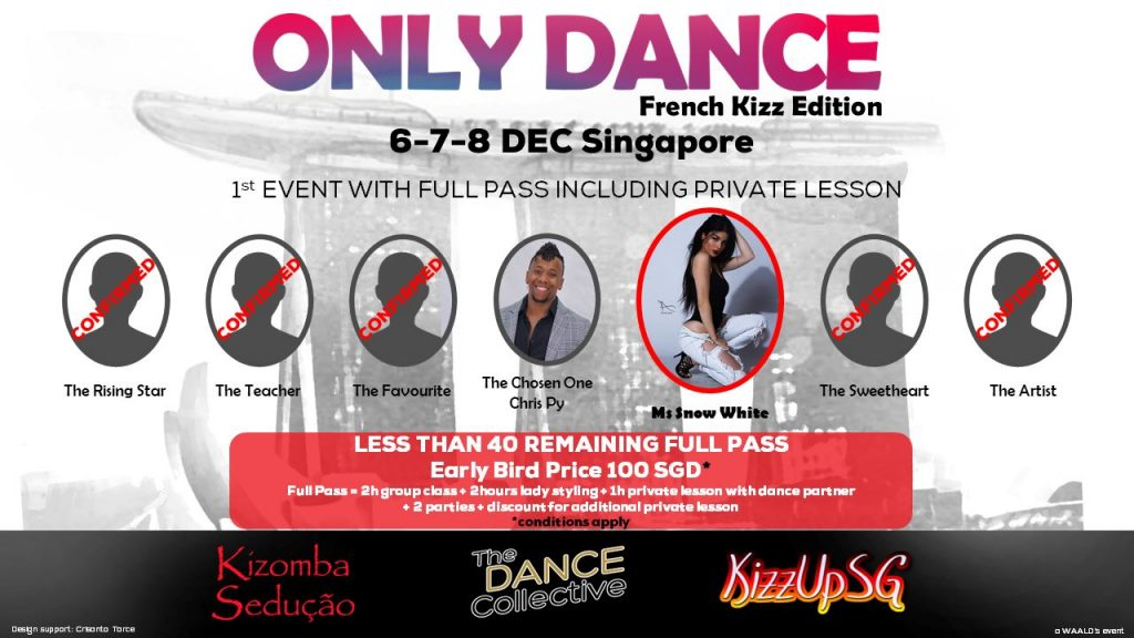 Only Dance, French Kizz edition, Singapore