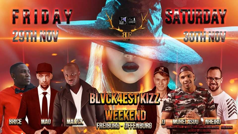 Kizomba Weekend Blvckforest Kizz