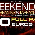 Weekender urban kiz & Tarraxo & Afro