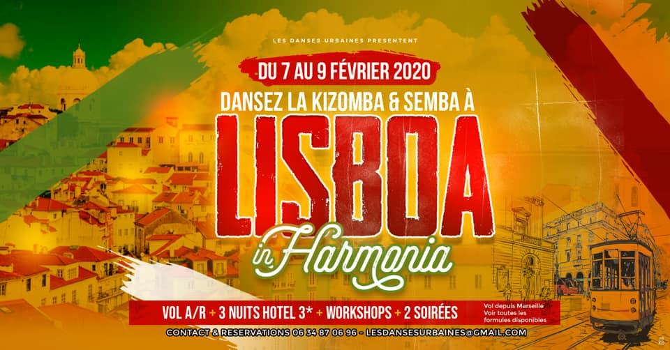 Voyage Kizomba à Lisbonne 2020