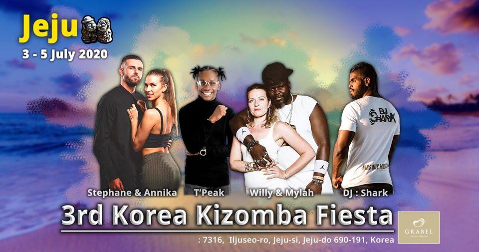 3rd Korea Kizomba Fiesta in JEJU