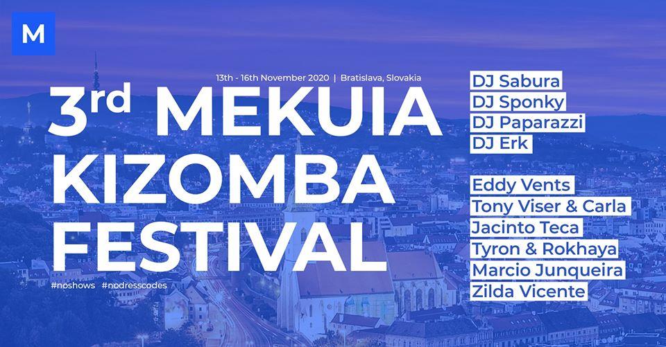 3rd Mekuia Kizomba Festival 2020