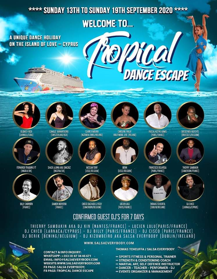 Tropical Dance Escape Holiday to Cyprus