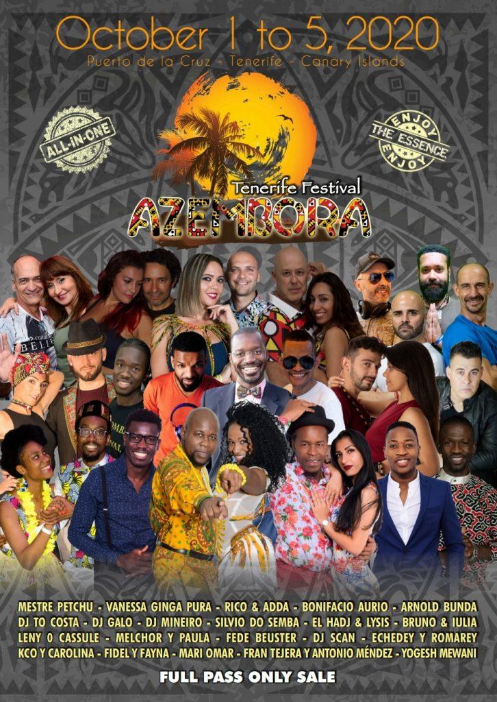 Azembora Tenerife Festival 2020