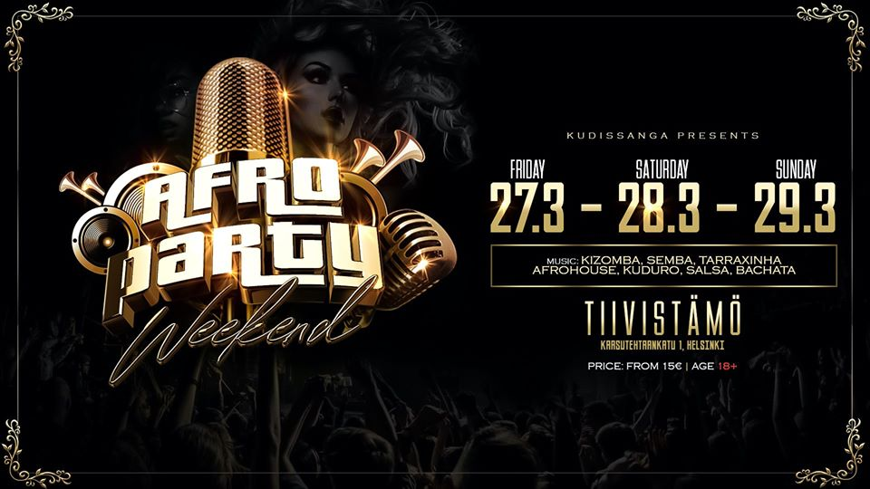 Afro Party Weekend