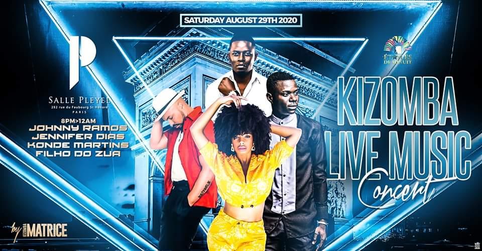 Kizomba Live Music Concert