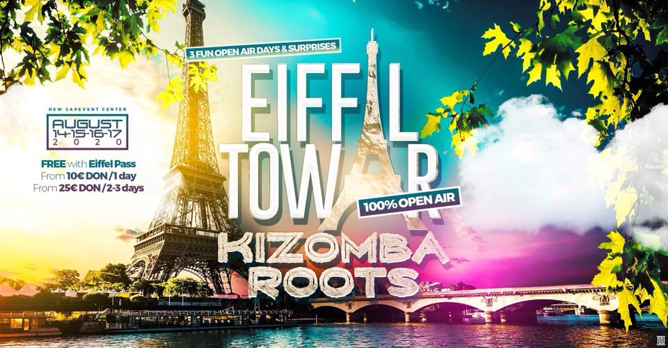 Kizomba Open Air Eiffel Tower