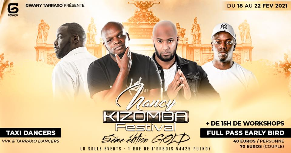 Nancy kizomba festival 5 Edition Gold