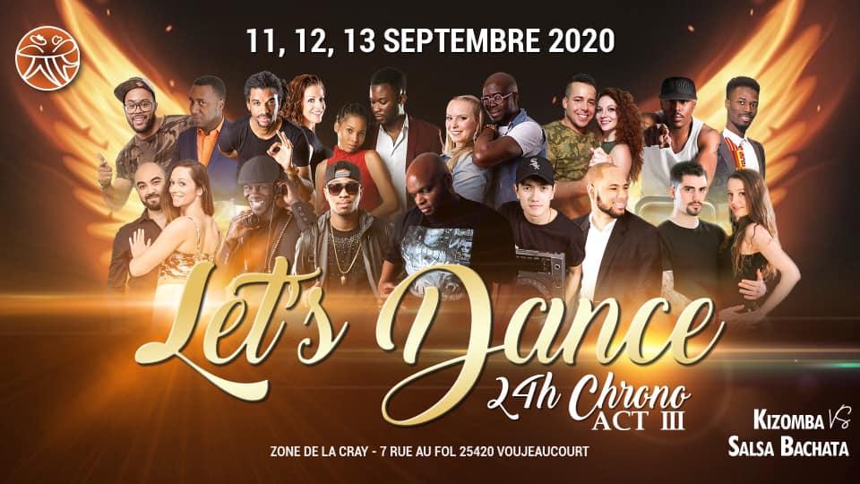 Let's dance : 24Heure Chrono Act III