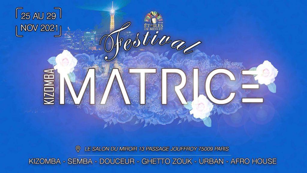 Kizomba Matrice Festival - Paris