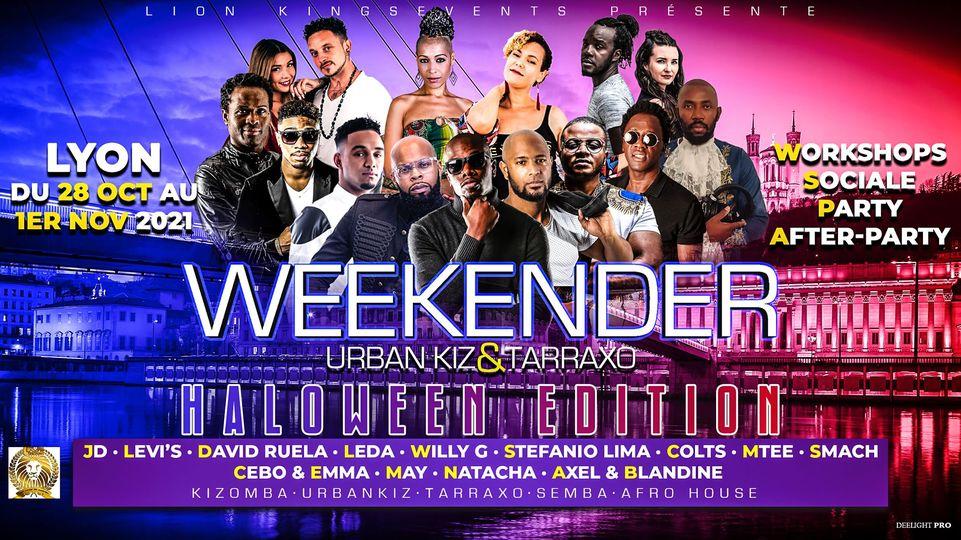 Weekender Urban kiz & Tarraxo Halloween Edition