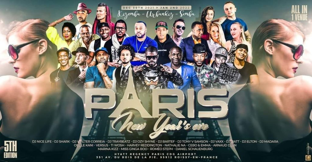 Paris Kizomba New Years Eve Africa